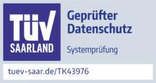 TK43976-Pruefzeichen-CDS-GmbH-TUeV-gepruefter-Datenschutz-2021-zw